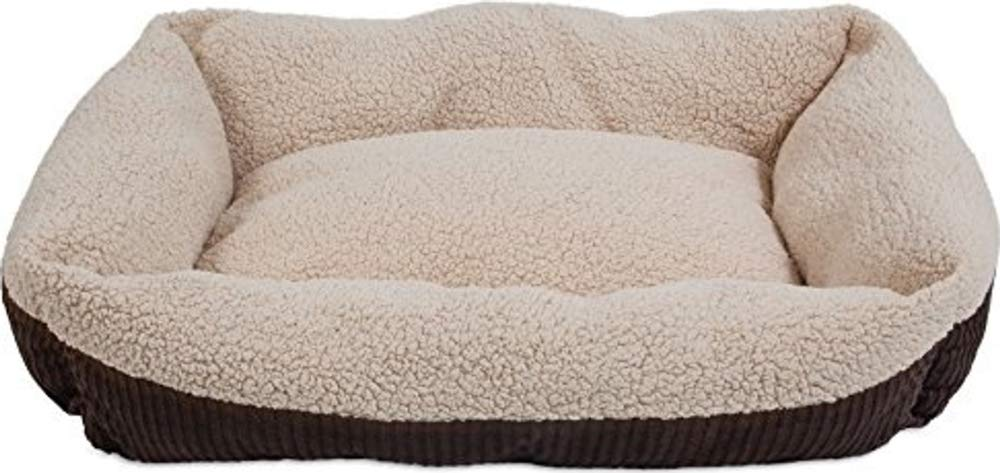 Aspen Pet Self-Warming Corduroy Bed