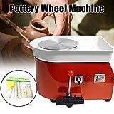 FLBETYY Pottery Wheel Forming Machine 25CM Electric Pottery Wheel DIY Machine for Ceramic Work Clay Art Craft 110V 350W