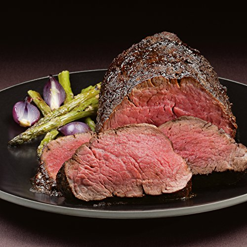 2 lb Steakhouse Rub Beef Tenderloin Roasts for Chateaubriand from Kansas City Steaks