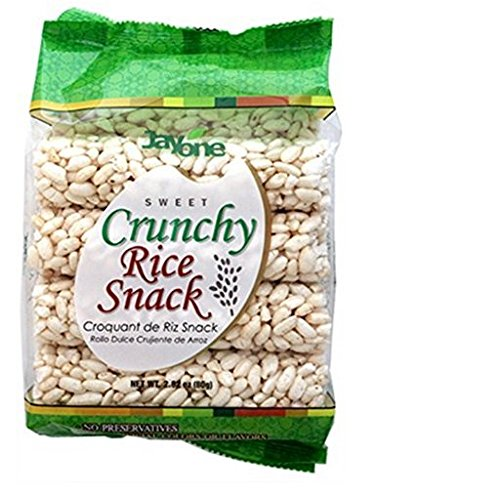 Jayone Crunchy Rice Snack, 2.8 Ounce (Pack of - Sweet Cinnamon Rolls