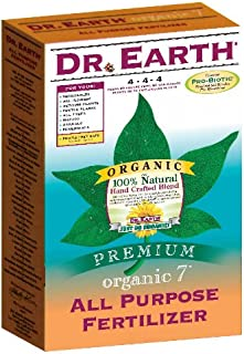 product image for Dr. Earth 706 Organic 7 All Purpose Fertilizer, Boxed, 4-Pound