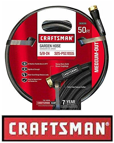 - Craftsman' CM-IFMD 50' Medium-Duty Garden Hose