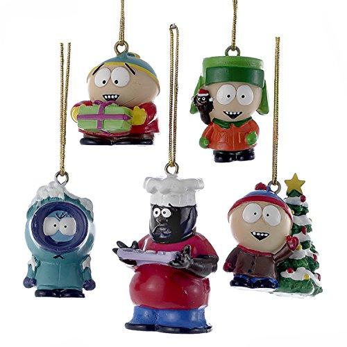 South Park Kurt Adler 5-Piece Resin Miniature Ornament Set