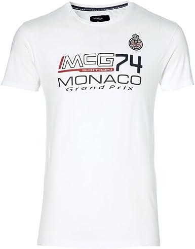 Camiseta McGregor GP Monaco Blanca 14 Blanco: Amazon.es: Ropa y accesorios