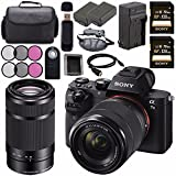Sony ILCE7M2K/B Alpha a7 II Mirrorless Digital Camera with FE 28-70mm f/3.5-5.6 OSS Lens + Sony E 55-210mm f/4.5-6.3 OSS E-Mount Lens + Battery + Charger + Sony 128GB SDXC Card + Case + Remote Bundle Review