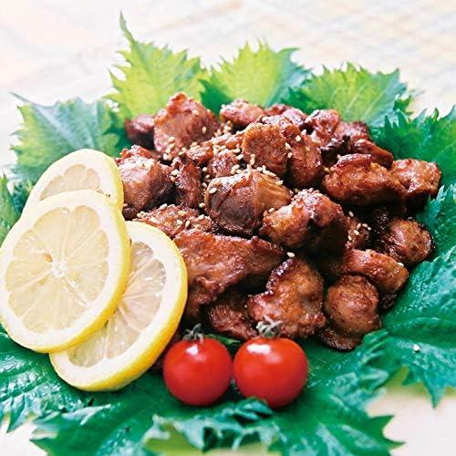 鳥梅) 薩摩ハーブ悠然どり砂肝ピリカラ揚げ 1kg (約170個入)