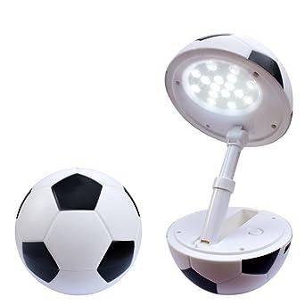 LED infantil de fútbol USB tischlampe. Dimmbare Baby lámpara de ...
