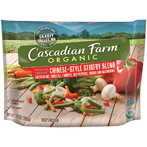Cascadian Farm Organic Chinese Stir-fry Blend, 10oz Bag (Frozen)