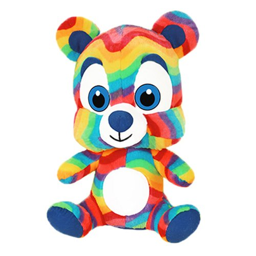 Hugh The Greatful Bear 11 in Plush Collectible Toy Blue Rainbow RetailSource Ltd 3-736-BLU