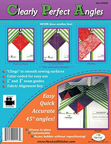 Pack of 2 Clearly Perfect Angles from New Leaf Stitches by New Leaf Stitches