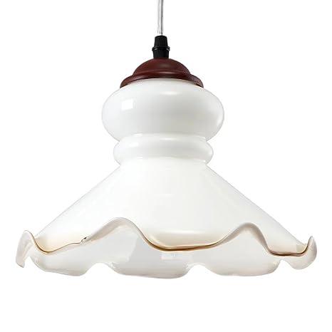 Amazon.com: Moderno minimalista lamp-shade de vidrio ...