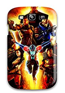 Defender Case For Galaxy S3, Mass Effect Pattern Sending Free Screen Protector