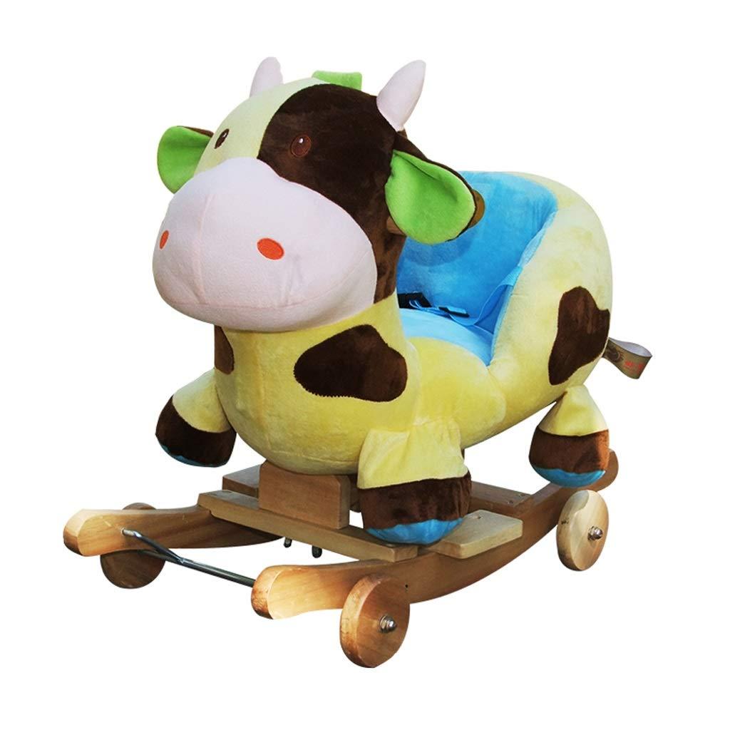Mecedoras Música Caballito de Madera Madera Caballo de Madera Caballo Caballito de Madera Bebé Caballo de Madera Caballo de Juguete