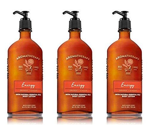 omatherapy Energy - Orange + Ginger Body Lotion, 6.5 Fl Oz, 3-Pack (Aromatherapy Body Lotion)