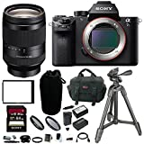 Sony Alpha a7SII Mirrorless Camera w/ 24-240mm f/3.5-6.3 OSS Lens & 64GB SD Card Bundle