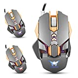 Computer-Gaming-Mouse-Diweit-Professional-Gaming-Mouse-3200-DPI-Game-Computer-Mice-7-Buttons-Design-Changing-High-Precision-for-Gamer-PC-MAC-Laptop-Wired-Gaming-Mouse-gray