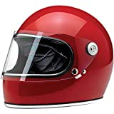 Biltwell Gringo S Helmet (Gloss Blood Red, Small)