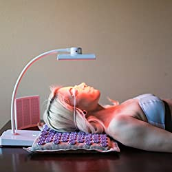 Trophy Skin RejuvaliteMD Red Light Therapy Device for Anti Aging Effects, Skin Toning and Wrinkle Repair on Face Neck and Body - Red LED Light Therapy with 880nm Infrared Lights