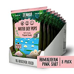 Water Lily Pops - Himalayan Pink Salt (8-pack)