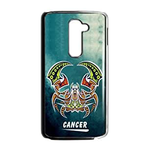 12 Constellation Signs - Custom Fantastic Amazing Believe In Cancer In Your LG G2 Case (Fit for AT&T) Cool LG Case AC212