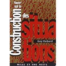 RAPPORT SUR LA CONSTRUCTION DES SITUATIONS