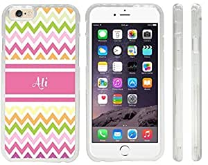 """NADIA Magic Diy """"Ali"""" Pink Chevron Name Design iPhone 6 case cover U5dSrvb7LIY for Apple iPhone 6 sell on Zeng case cover"""