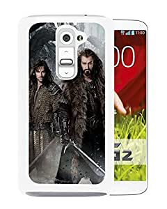 The Hobbit 2 The Desolation of Smaug 2013 White High Quality Custom LG G2 Protective Phone Case