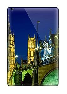 Hot 7936111I21369218 Hot Evening In Ghent Belgium First Grade Tpu Phone Case For Ipad Mini Case Cover