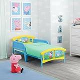 Delta Children Plastic Toddler Bed, Peppa Pig