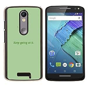 EJOOY---Cubierta de la caja de protección para la piel dura ** Motorola Moto X3 3rd Generation ** --Continuar en TI