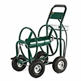 WShop 300 FT Garden Water Hose Reel Cart Outdoor Heavy Duty Yard Water Planting New