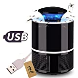 iZiv LED Bug Zapper Lamp Electronic Mosquito Killer Indoor Mosquito Trap Inhaled Mosquito Killer Fly Killer USB Charger