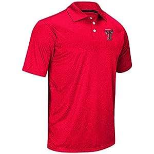 Mens NCAA Texas Tech Red Raiders Polo Shirt (Team Color) - XL