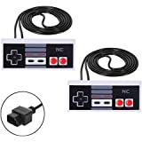 Classic NES Controllers for NES 8 Bit Entertainment System Console Control Pad(2PCS)