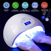 Nail Dryer, 48W LED UV Nail Lamp for Gel Nail Polish with Sensor and Timer Setting, for Fingernails Toenails by SEXY MIX