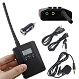 Douk Audio 0.2W Portable Mini Stereo FM Transmitter Power Long Radio Broadcast Audio Sender