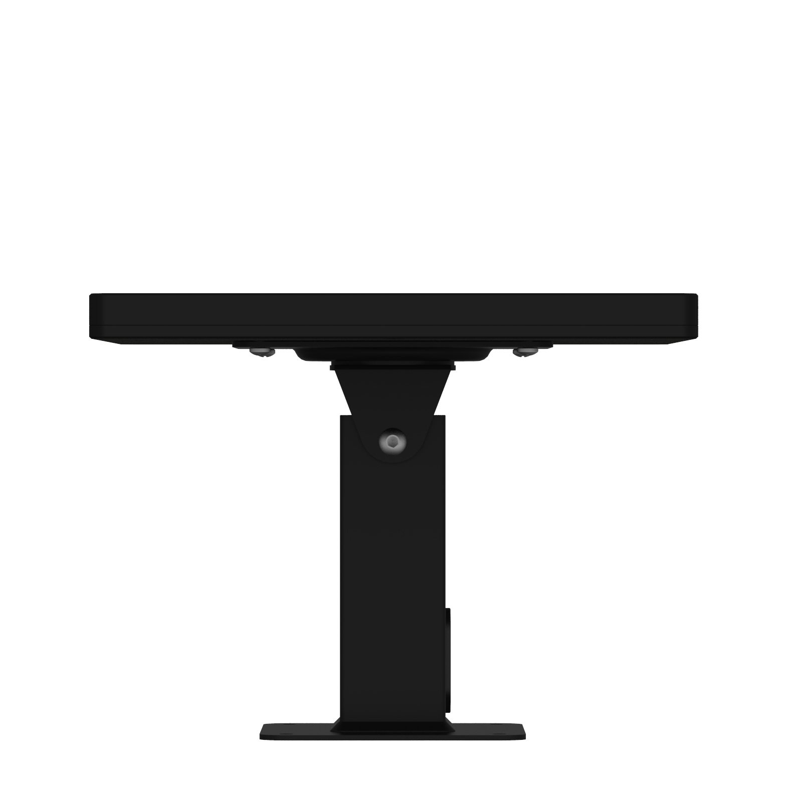 iPad (5th Gen) 9.7/Pro, Air 1/2 Black Covered Home Button Rotating & Tilting Desk/Table Mount [Bundle] by VidaMount (Image #4)