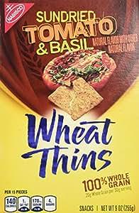 Amazon.com: Nabisco, Wheat Thins, Sun Dried Tomato & Basil