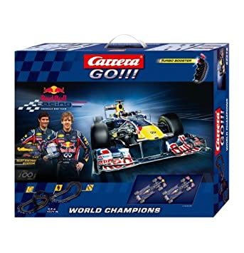 a17490d107 Carrera GO Red Bull F1 Champions Racing Set: Amazon.co.uk: Toys & Games