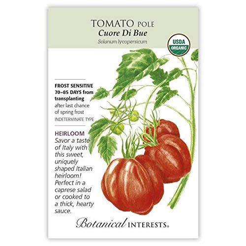 (Botanical Interests, Seed Tomato Pole Oxheart)