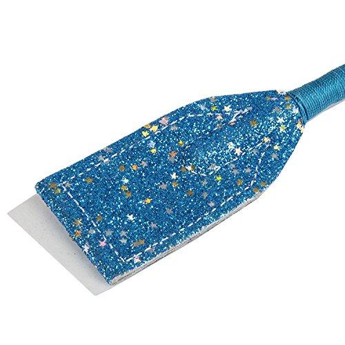 Intrepid International Sparkle Glitter Jump Bat, Blue, 18