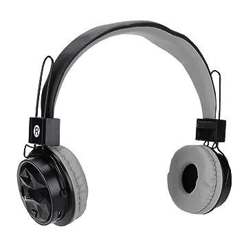 ASHATA B-15 Auriculares Bluetooth inalámbricos portátiles FM ...