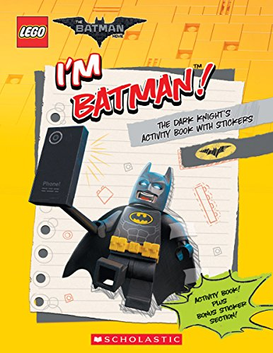 I'm Batman! The Dark Knight's Activity Book with Stickers (The LEGO Batman Movie)]()