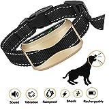 WeyRack Bark Collar[2018 Upgrade Version] No Bark Control,Shock Collar with Beep,Vibration, Harmless Shock for Small/Medium/Large Dogs, Waterproof Dog Barking Collar.