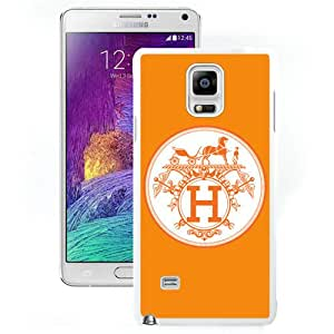 Hot Sale Samsung Galaxy Note 4 Case ,Hermes 16 White Samsung Galaxy Note 4 Cover Unique And Popular Designed Phone Case