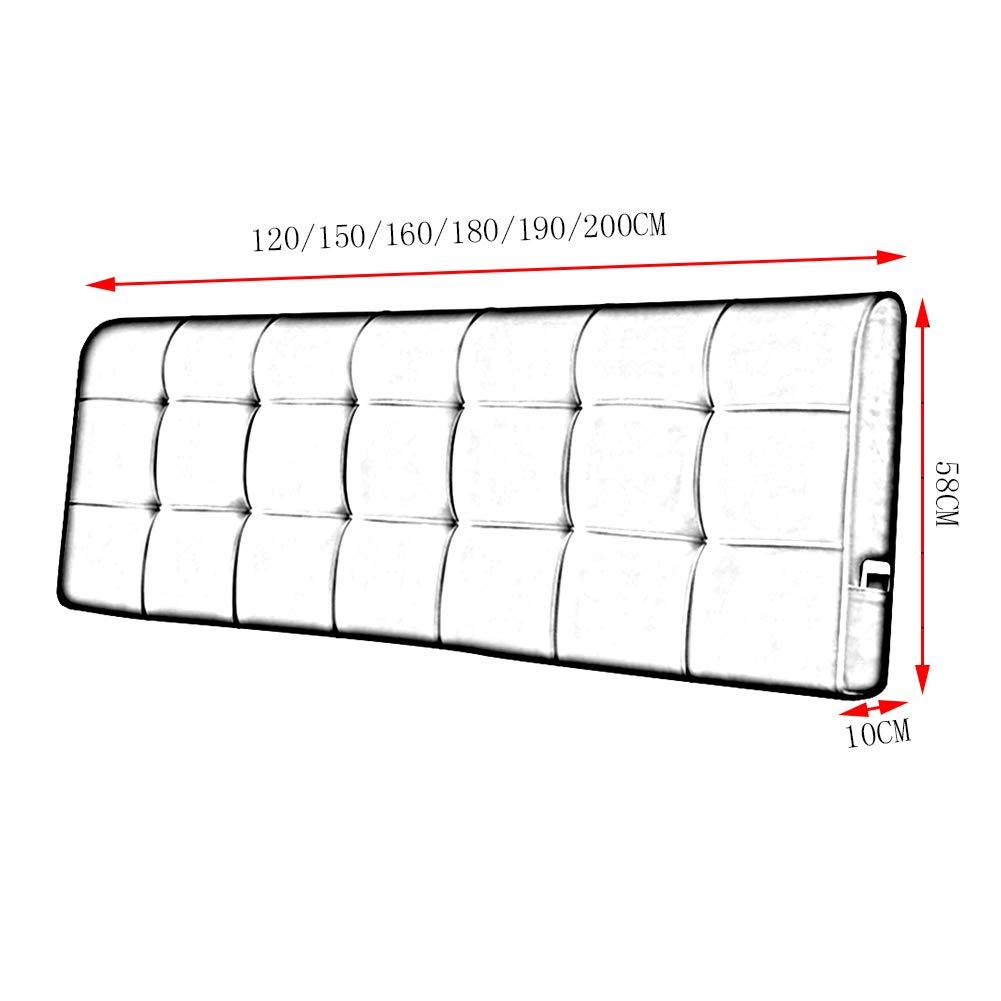 Dimensioni Standard Cuscino Letto.4 Colori 6 Dimensioni Con Senza Testiera Standard Pengfei Cuscini