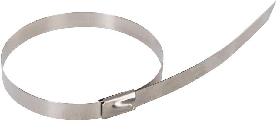 FIXMAN 404155300x 7,9mm Acero Inoxidable Roller Cable Ties Pack de 50