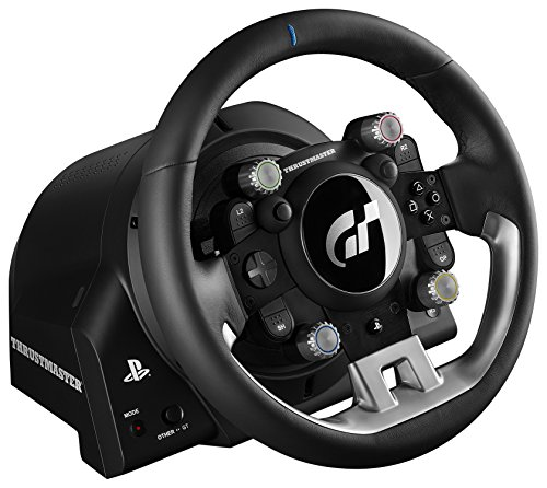ThrustMaster T-GT T700 Rs Gt UK Steering Wheel + Pedals PC, Playstation 4 Black