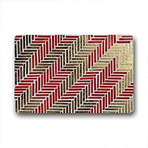 """QYOU Art Design I Love Llama Entrance Doormat Rugs 18""""x 30"""""""