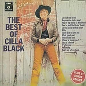 Cilla Black The Best Of Cilla Black 1968 Edition